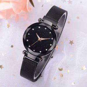 Gold with Diamond Fashion Quartz Women's Watch